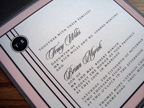 Thermography Invitation for great invitations sample