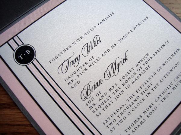 Laser Wedding Invitations is adorable invitation design
